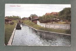 CPA Colombo Canal UNUSED Non Voyagé SRI LANKA CEYLON - Sri Lanka (Ceylon)