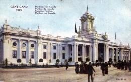 Gent-Gand 1913. Pavilloen Van Kanada - Gent