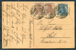 1921 Hemmingstedt (Holstein) Postkarte - Allemagne