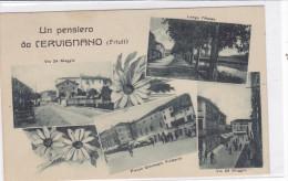 CARD  CERVIGNANO  UN PENSIERO DA......   VEDUTINE  (UDINE)  -FP-V-2-  0882-20359 - Udine