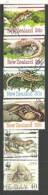 Les Reptiles De Nouvelle-Zélande. 6 T-p Oblitérés - Reptiles & Batraciens