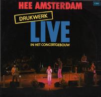 * LP *  DRUKWERK - HEE AMSTERDAM (Live In Het Concertgebouw)(Holland 1984) - Vinyl Records