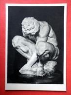 Crouching Boy By Michelangelo - Sculpture - Italian Art - Unused - Sculptures