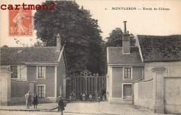 MONTGERON ENTREE DU CHATEAU ANIMEE ESSONNE 91 - Montgeron