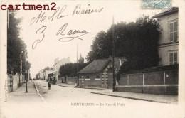 MONTGERON LA RUE DE PARIS 91 ESSONNE - Montgeron
