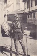 MAC249   --  TYPE DE COMITADJI  --  1917  --  SOLDIER WITH GUN - Macedonia