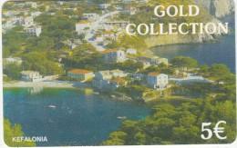 GREECE - Kefalonia Island, Petroulakis Prepaid Card 5 Euro, Used - Paesaggi