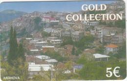 GREECE - Arahova, Petroulakis Prepaid Card 5 Euro, Used - Paesaggi