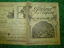 1926 LA FEMME ET L'ENFANT:Famille MERLE à Malintrat (63); GERMANIA(Bingen,Denkmal,F Rancfort -sur-le-Mein;ENFANTS --suit - Newspapers