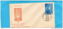 MARCOPHILIE-Enveloppe Illustrée  F DC -1962-Industrie Pétrolière-Raffineries-REFINERY - FDC