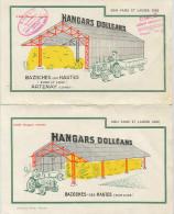 Publicité HANGARS Doléans - Bazoches Les Hautes (28) Artenay (45) - Agent Régional à Godisson (61) ( TRACTEUR ) - Publicités