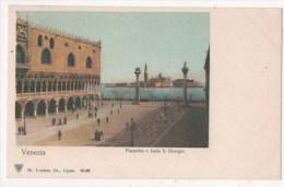 ITALIE - VENISE - VENEZIA - Piazzetta E Isola S. Giorgio - Venezia (Venice)