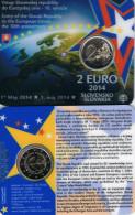 SLOWAKIJE - COINCARD 2 € 2014 BU - 10e VERJAARDAG TOETREDING TOT DE E.U. - Slovaquie