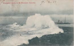 PC Ceylon - Colombo - Breakwater During S.W. Monsoon - 1911 (3125) - Sri Lanka (Ceylon)