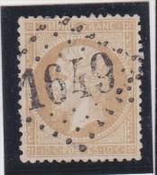 GC 1649   GIEN    ( 43 )  LOIRET  SUR YT N° 21- REF 1137 - Marcophily (detached Stamps)