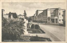 PORDENONE - PIAZZALE 20 SETTEMBRE - FORMATO PICCOLO - VIAGGIATA 1944 - (rif. P38) - Pordenone