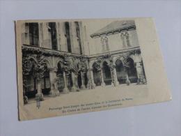 PATRONNAGE JOSEPH DES JEUNES GENS DE LA CATHEDRALE DE NANCY  @ CPA VUE RECTO/VERSO AVEC BORDS - Nancy