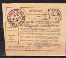RECEPISSE  RECOMMANDE  De MULHOUSE Du 8-9-1936 Via COLMAR - Otros