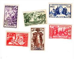 Expo De Paris- Série Compléte  Belle Gomme Sans Charnière - Unused Stamps