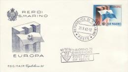 SAN MARINO 1963 EUROPA CEPT FDC /ZX/ - 1963