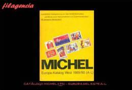 CATÁLOGOS & LITERATURA. ALEMANIA 1990. CATÁLOGO MICHEL EUROPA DEL ESTE A-L - Germania
