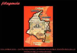 CATÁLOGOS & LITERATURA. COLOMBIA 2011. CATÁLOGO DE BILLETES DE COLOMBIA. EDICIÓN DE BOLSILLO - Libros & Software