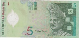 Banknote Malaysia 5 Ringgit - Polymer - Tuanku Abdul Rahman - Multimedia Super Corridor, KLIA And Petronas Twin Towers - Maleisië