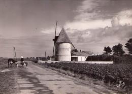 Ile D´Oléron..animée.. Moulin à Vent..vache..chèvre.. Coiffe - Ile D'Oléron