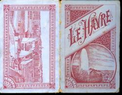 Seine Inférieure 76 Le Havre Petit Dépliant De Gravures XIXe B - Cromos