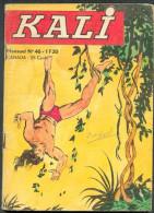 No PAYPAL !! : KALI 46 Kali Défi à Mort...Buffalo Bill , Eo Petit Format Jeunesse Et Vacances Avril 1970 Pf BE - Kleine Formaat