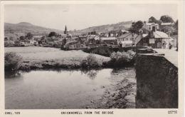 CRICKHOWELL FROM THE BRIDGE - Breconshire