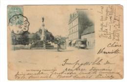 CPA PIONNIERE BESANCON (Doubs) - Les Chaprais : Fontaine Flore - Besancon