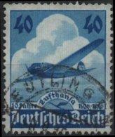 ALLEMAGNE DEUTSCHES III REICH Poste Aérienne 54 (o) AVIATION 10ème Anniversaire Cie Lufthansa (CV 4€) 1 - Airmail