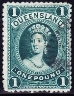 Queensland 1 Pound SG#309 Gestempelt - 1860-1909 Queensland