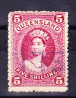Queensland 5 Schillings SG#310 Gestempelt - 1860-1909 Queensland