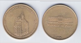 **** SAINTE-CHAPELLE 1998 PARIS - NON DATEE - MONNAIE DE PARIS **** EN ACHAT IMMEDIAT !!! - Monnaie De Paris