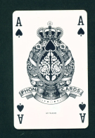 CZECH REPUBLIC - Chip Phonecard Ace Of Spades *BOGOF  Used - Tschechische Rep.