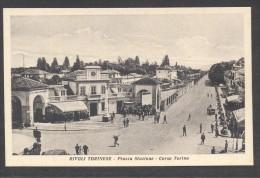 7160-RIVOLI TORINESE(TORINO)-PIAZZA STAZIONE-CORSO TORINO-ANIMATA-FP - Rivoli