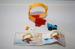 Kinder AUTOS MIT SPIELBAHNEN N°1 1997 - Mountables