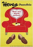 @@@ MAGNET - Hevea Pantoffels - Publicitaires