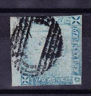 Mauritius 1859  2d. Blau Gestempelt SG#39 - Bogenrand Stück - Maurice (...-1967)