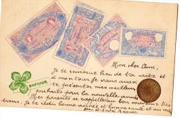 REPRESENTATIONS DE MONNAIES DONT 10 FRANCS DE 1868 BILLETS DE 500 FRANCS 1000 FRANCS 50 FRANCS 100 FRANCS RARE - Monnaies (représentations)