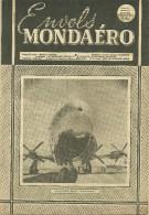 REVUE ENVOLS MONDAERO AVION AVIATION LE LOCKHEED XR 6 O-1 CONSTITUTION   MILITAIRE MILITARIA  GUERRE - Magazines Inflight
