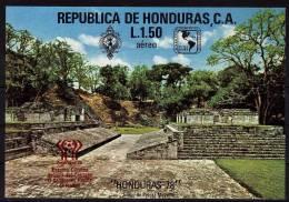 HONDURAS   BF  * *   NON DENTELE  SURCHARGE  Cup 1978  Football  Soccer  Fussball - Coupe Du Monde