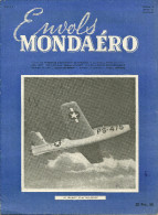 REVUE ENVOLS MONDAERO AVION AVIATION LE REPUBLIC XP-84 THUNDERJET  MILITAIRE MILITARIA  GUERRE - Magazines Inflight