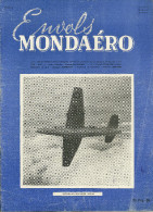 REVUE ENVOLS MONDAERO AVION AVIATION VICKERS-SUPERMARINE E-10/44  MILITAIRE MILITARIA  GUERRE - Magazines Inflight