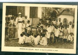 Missions De Ceylan - Série II - La Leçon De Catéchisme En Image - Lwh185 - Sri Lanka (Ceylon)