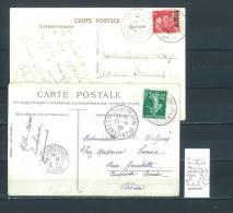 Lettre Cachet  Gare Algérie - Alger Gare Avion - Constantine Gare - Other