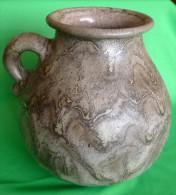 Vintage German Pottery 354 VASE Pot Ceramic Fat Lava - Germany ? Scandinavia - Ceramics & Pottery