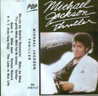 MICHAEL JACKSON - THRILLER - Audiokassetten